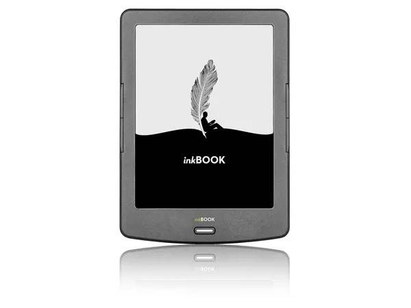 Obrazek ukazuje czytnik e-booków INKBOOK Classic 2, który jest prezentowany w artykule.