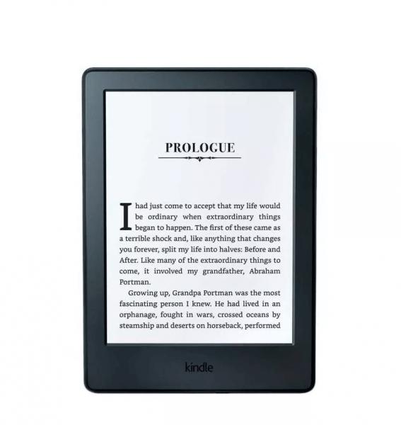 Obrazek ukazuje czytnik KINDLE 8 Touch, który jest przedstawiony w dalszej części artykułu.
