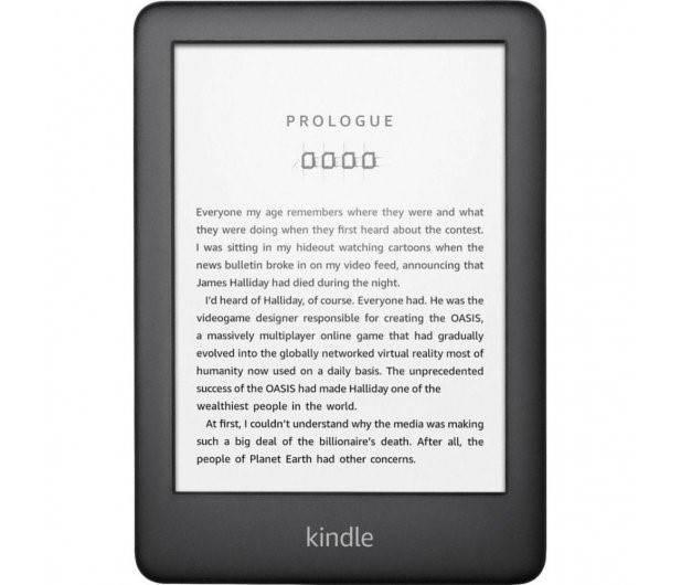 Obrazek ukazuje czytnik e-booków AMAZON Kindle 10, który prezentowany jest w artykule.
