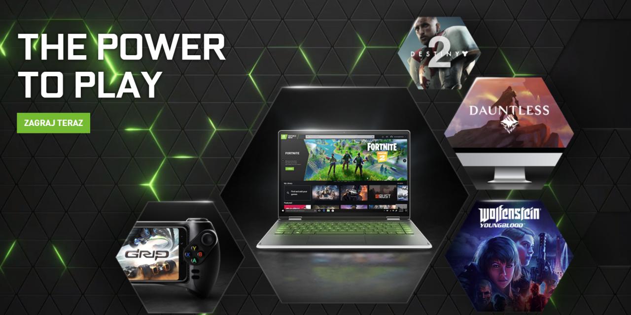 Chmura Nvidia GeForce Now trafi do iPhone'ów, iPadów i Chrome'a
