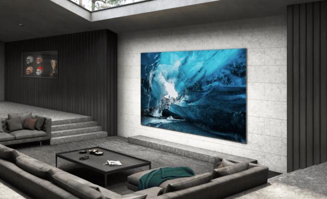 Samsung pokazał 110-calowy ekran w nowej technologii