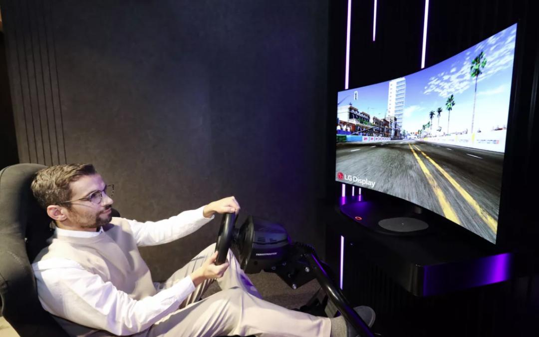 Telewizor do gier LG, który możemy zakrzywiać w razie potrzeby