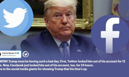Konto Donalda Trumpa zablokowane na Facebooku i Twitterze po zamieszkach na Kapitolu