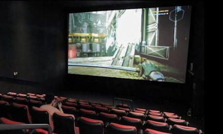 Kina wynajmują ekrany miłośnikom gier komputerowych
