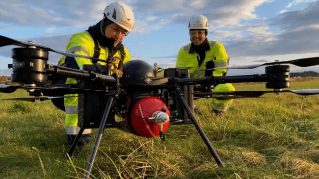W Norwegii wystartował pierwszy dron napędzany wodorem