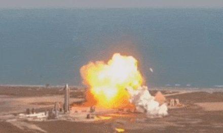 SpaceX rozbił rakietę SN9 podczas próby lądowania