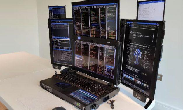 Znamy cenę laptopa Aurora z 7 ekranami