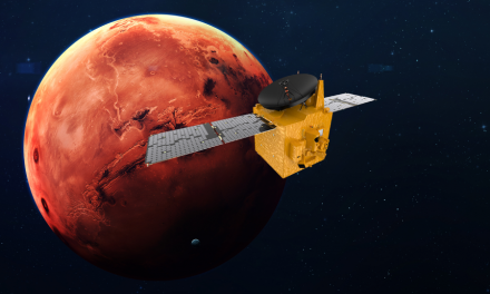Sonda Hope dotarła na orbitę Marsa