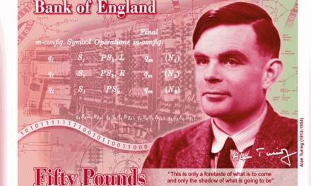 Alan Turing na banknocie – znajdziesz wszystkie ukryte zagadki?