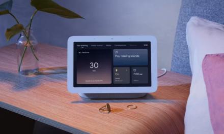 Nowy Nest Hub Google z sensorem Soli do monitorowania snu