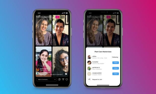 Instagram wprowadza chaty wideo dla wielu użytkowników
