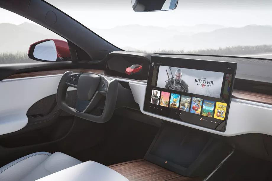 Tesla Model S bez dźwigni zmiany biegów? Zaskakująca decyzja