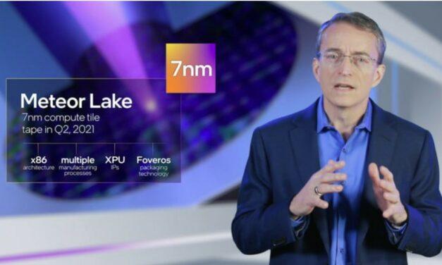 Procesory 7 nm Intel Meteor Lake zadebiutują w 2023 r.