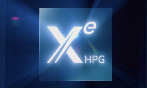 Intel zapowiada karty Xe HPG