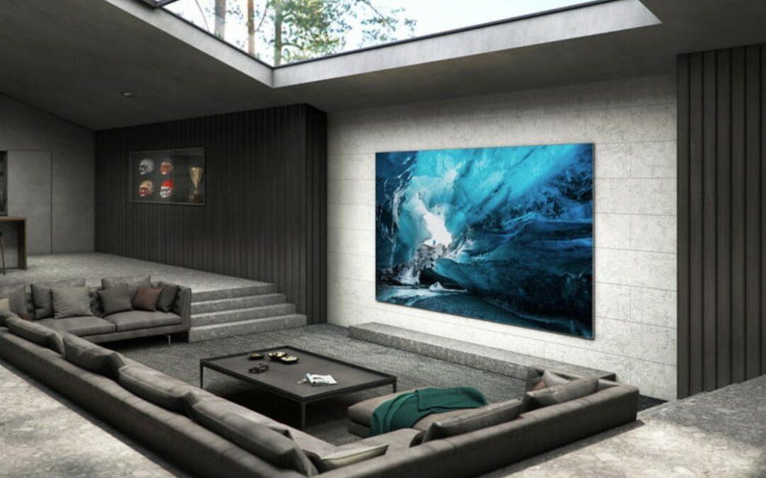 Samsung MicroLED 76″ – nowy telewizor z obsługą TikToka
