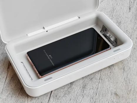 Gadżety do smartfona kontra pandemia - sterylizator UV Samsung
