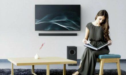 Nowy kompaktowy soundbar Panasonic SC-HTB490