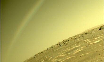 NASA dementuje – tęcza na Marsie to tylko złudzenie optyczne