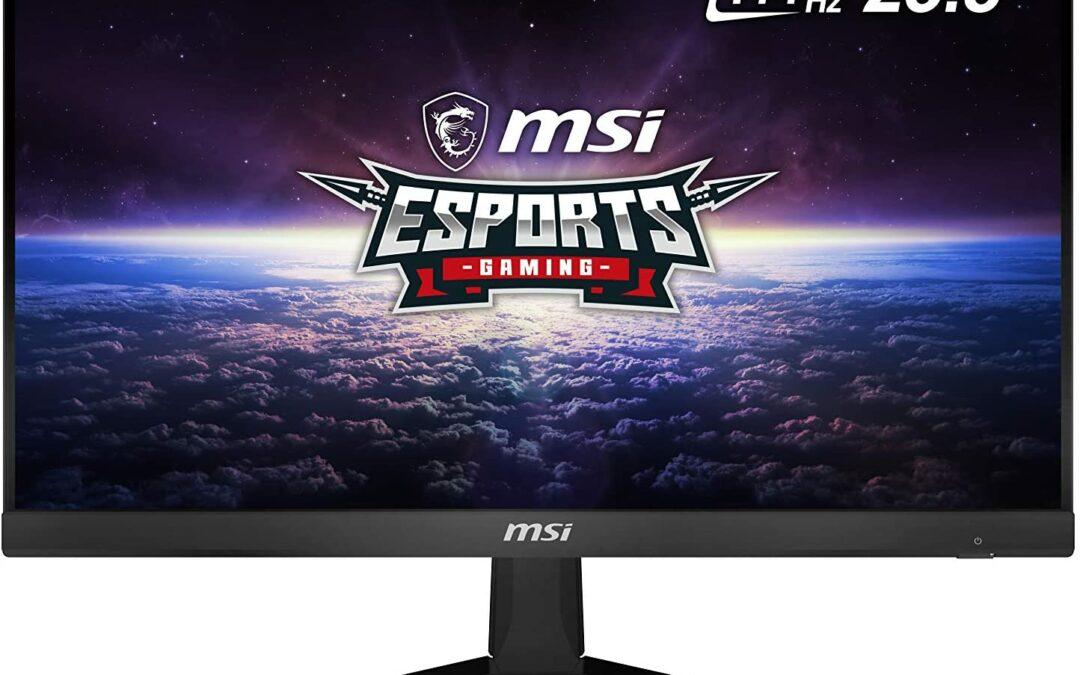 Tanie monitory gamingowe – top 5 najlepszych modeli