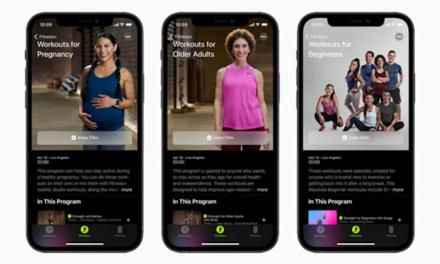 Apple Fitness+ otrzymało 3 zupełnie nowe plany treningowe
