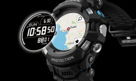 Casio GSW-H1000 to pierwszy smartwatch G-Shock z Wear OS