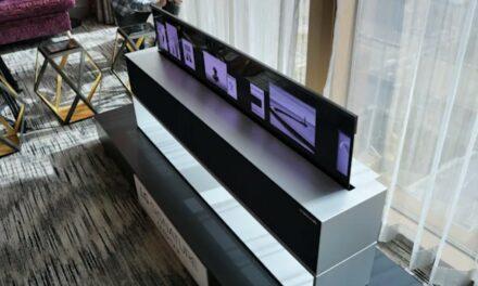 LG: zwijany ekran OLED już w sprzedaży
