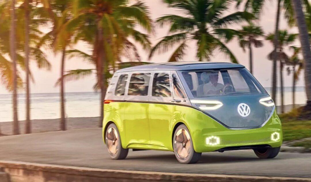 Kultowy VW Bus teraz w wersji elektrycznej!