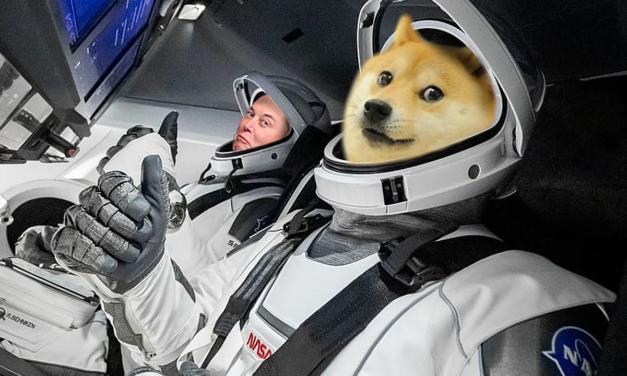 Dogecoin sfinansował wystrzelenie satelity na księżyc