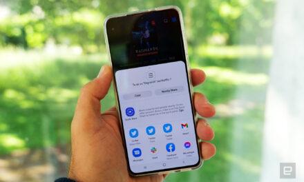 Android 12 wymusi używanie domyślnego menu udostępniania