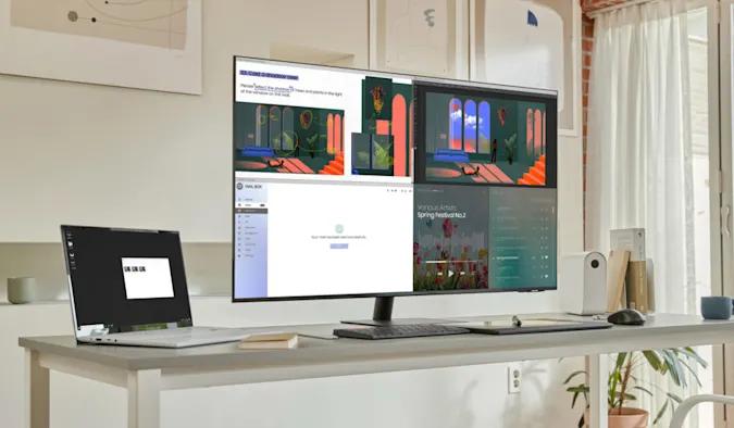 Samsung zaprezentował nowy 43-calowy smart monitor – M7