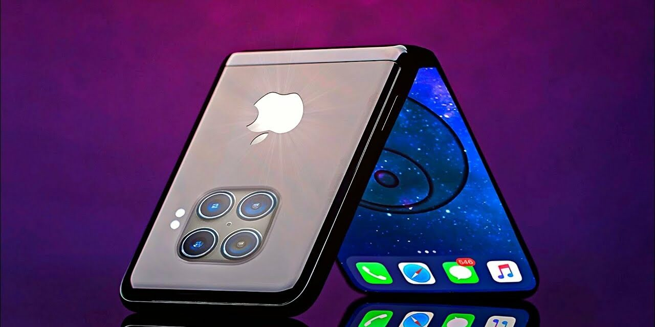 Apple pracuje nad składanym iPhonem?