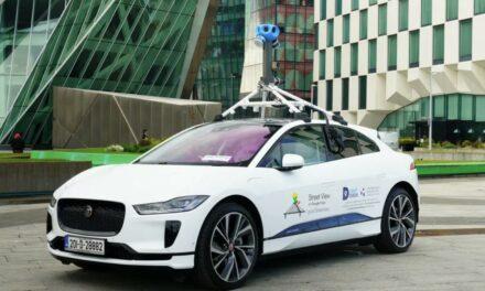 Jaguar I-Pace to nowy elektryk Google na potrzeby Street View