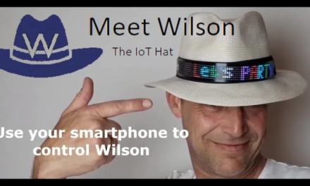Wilson – smart kapelusz, który zrobisz samodzielnie w domu