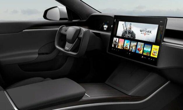 Tesla Model S ma wbudowany procesor i GPU od AMD do gier