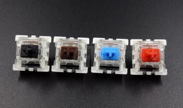 Przełączniki klawiatury mechanicznej