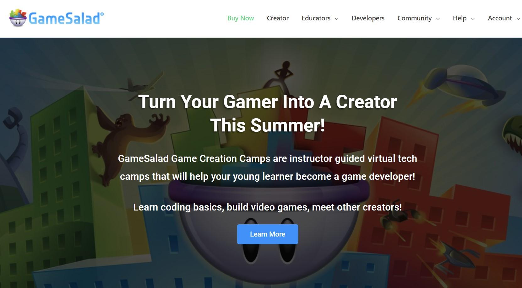 GameSalad - no code do gier