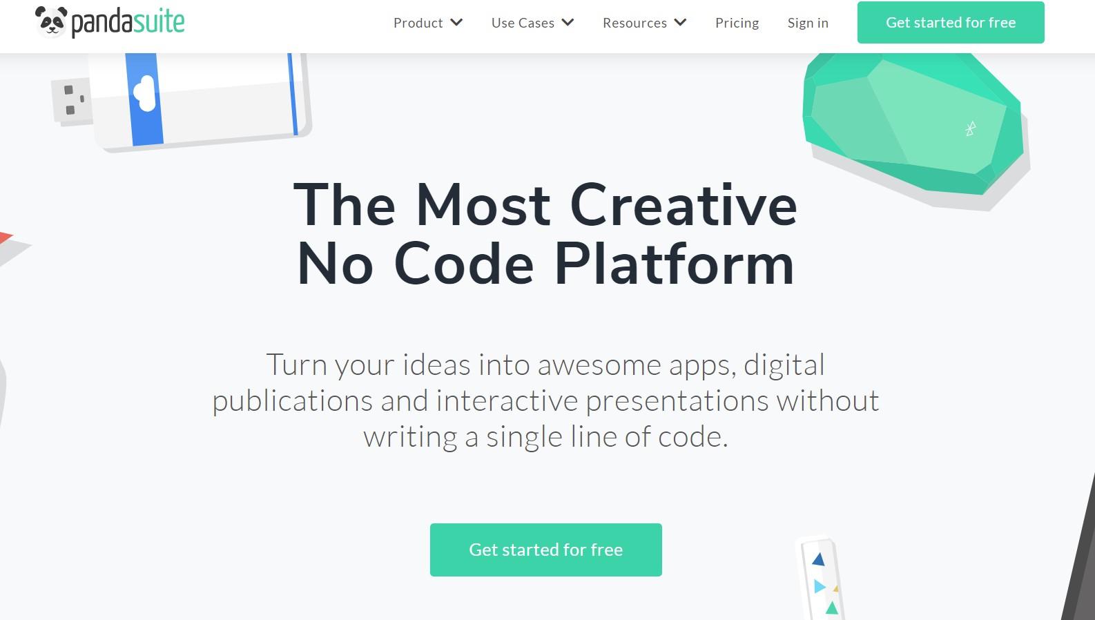 PandaSuite - wygodne tworzenie aplikacji no code