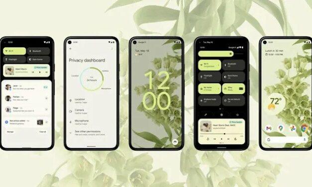 Android 12 wykorzysta AI do zmieniania orientacji ekranu