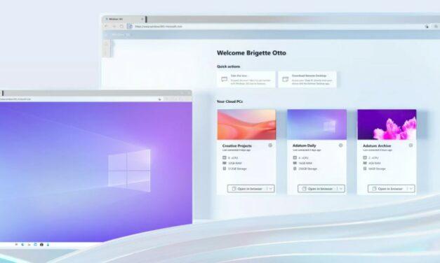 Cloud PC, czyli Windows 365 przeniesie komputer do chmury