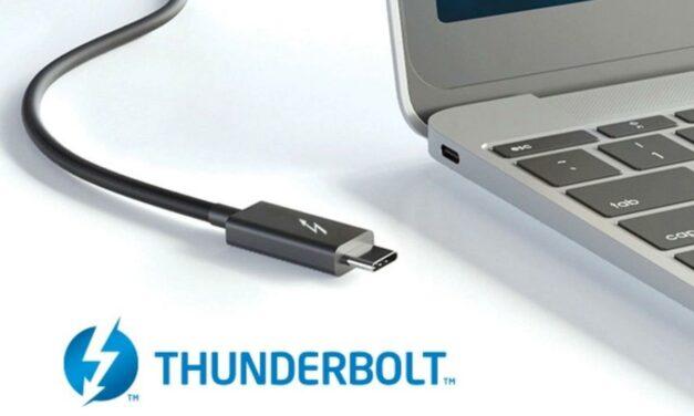 Thunderbolt 5 umożliwi przepustowość aż do 80 Gb/s