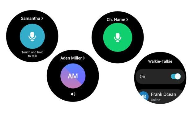 Samsung Galaxy Watch 4 ma już wbudowane walkie-talkie