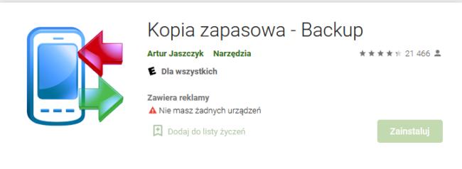 Kopia Zapasowa - Backupp