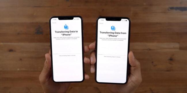 Jak przenieść dane z telefonu na telefon w iOS