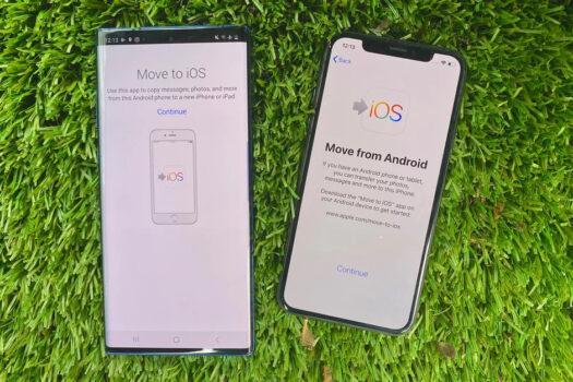 Aplikacja Move to iOS