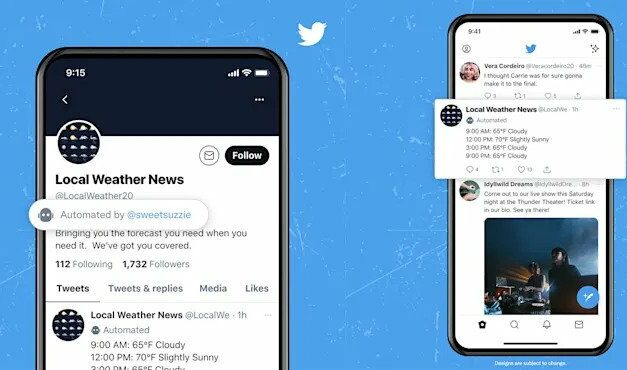 Twitter zacznie oznaczać konta prowadzone przez boty