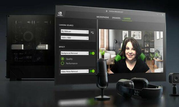 Nvidia Broadcast otrzymało nową, świetną aktualizację