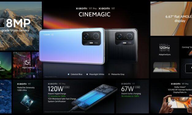 Xiaomi 11T Pro – bateria od zera do pełna w 17 minut?!