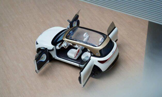 Smart Concept #1 – nowa przyszłość miejskich samochodów?