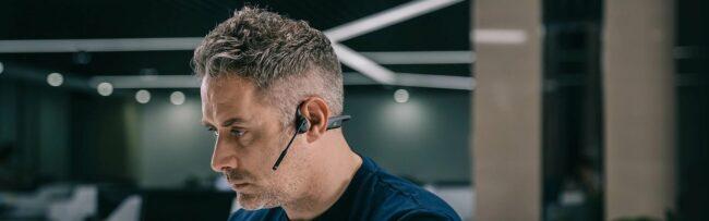 Aftershockz słuchawki z przewodnictwem kostnym