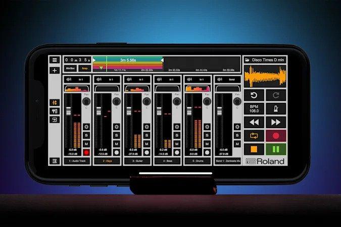 Roland prezentuje Zentracker – darmowy mobilny DAW
